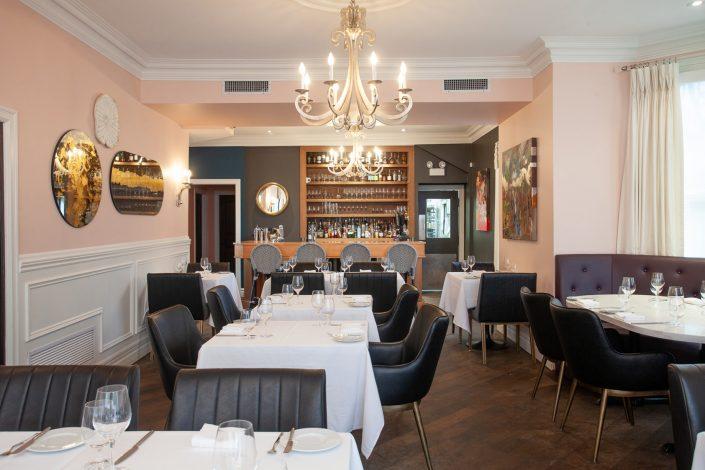 Quatrefoil Restaurant Interior Photograph