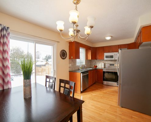 real estate kitchen photograph in owen sound