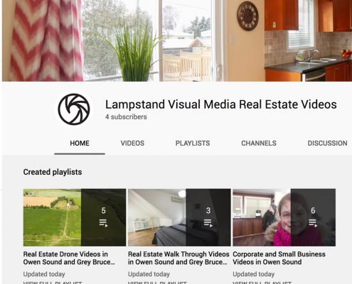 Lampstand Visual Youtube channel screen shot